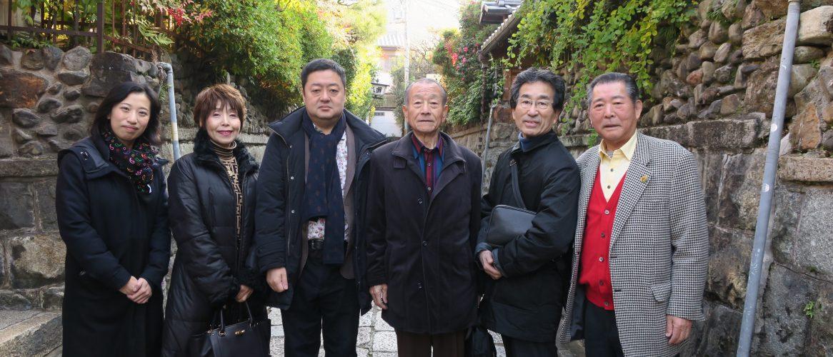 京都石塀小路に立ち寄る